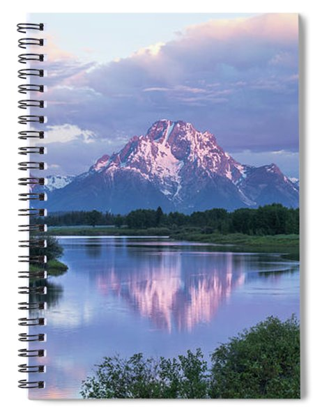 Oxbow Morning 47 Spiral Notebook