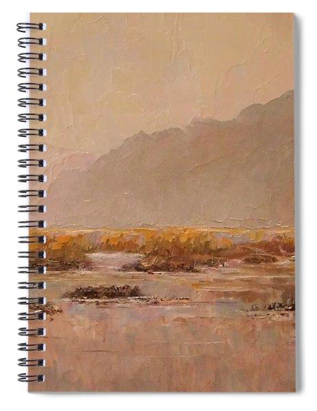 Oyster Beds Emerging Spiral Notebook