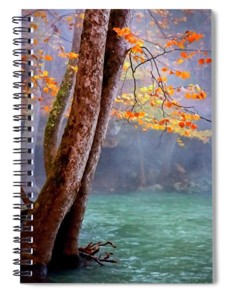 Ozark Autumn  Spiral Notebook
