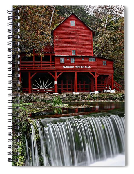 Ozarks Mill Spiral Notebook