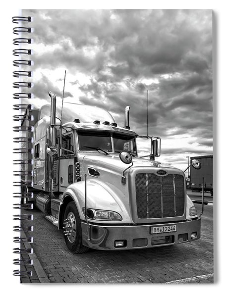 P E T E R B I L T Truck . . . On The Road Spiral Notebook