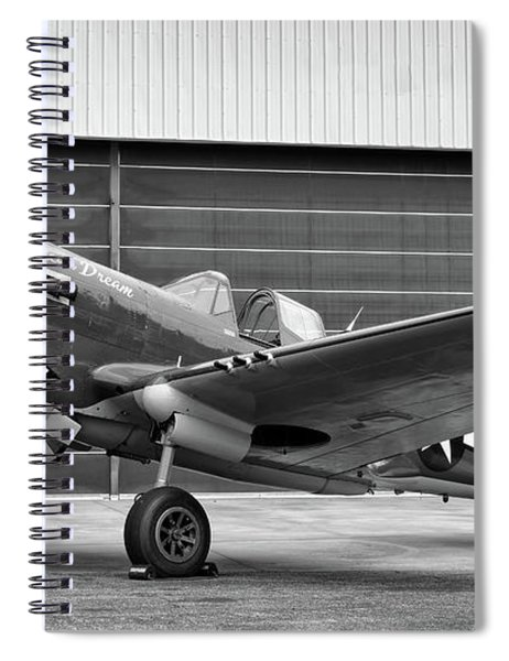 P40 Warhawk  Spiral Notebook