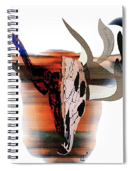 Pablo's Cow Spiral Notebook