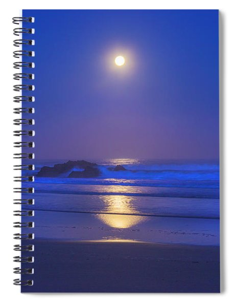 Pacific Moon Spiral Notebook