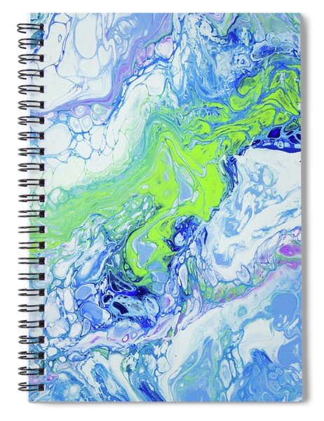 Pacific Storm Coming Spiral Notebook by Lisa Smith