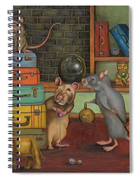 Pack Rat's Spiral Notebook