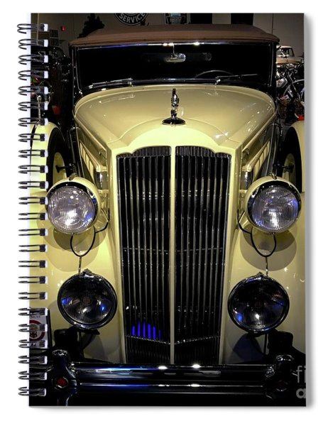 Packard 1934 Touring Coupe Spiral Notebook