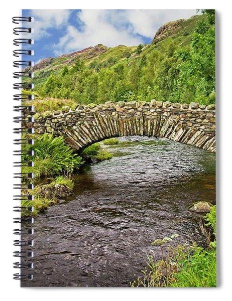 Packhorse Bridge, Lake District Spiral Notebook