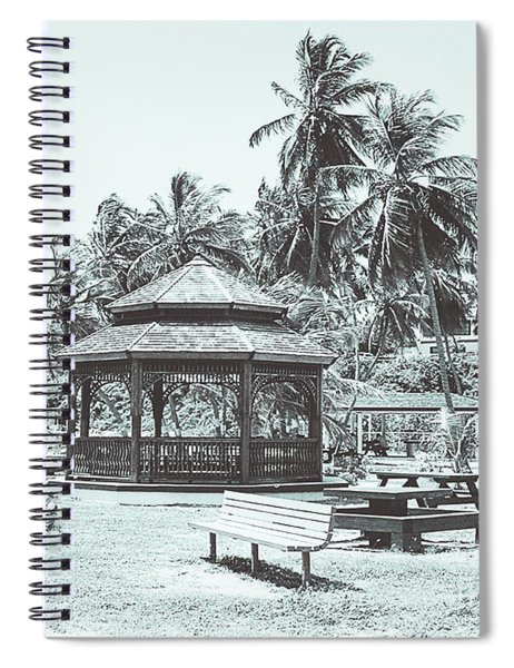 Pagoda On The Sea Spiral Notebook