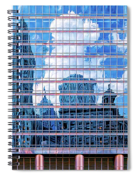 Painted City Spiral Notebook