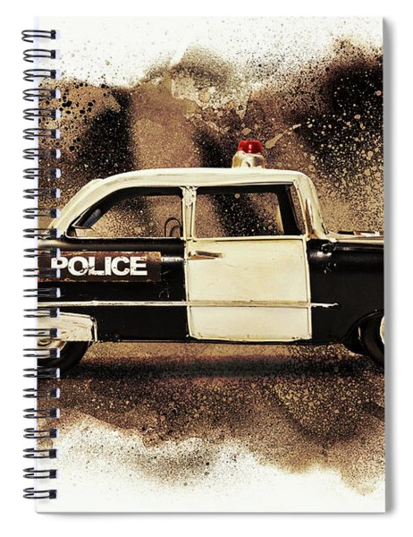 Painted Patrol Spiral Notebook