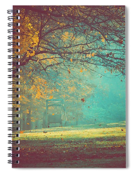 Painted Sunrise Spiral Notebook