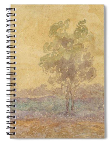 Paisaje/atardecer Spiral Notebook