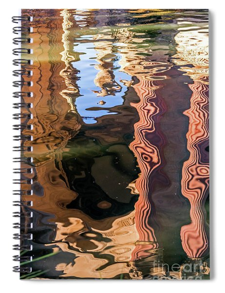 Palace Reflections Spiral Notebook