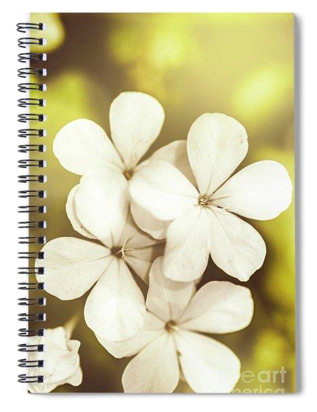 Pale Wildflowers Spiral Notebook