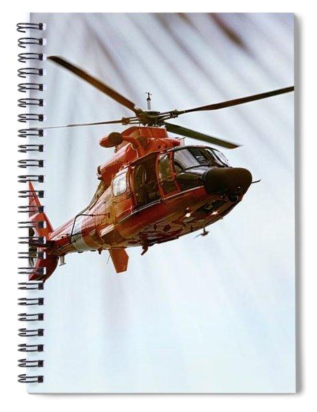 Palm Chopper Spiral Notebook