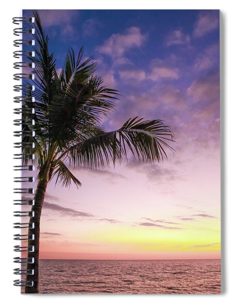Palm In Paradise Spiral Notebook