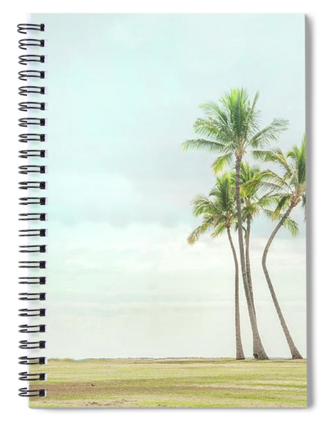 Palm Tree Cluster  Spiral Notebook