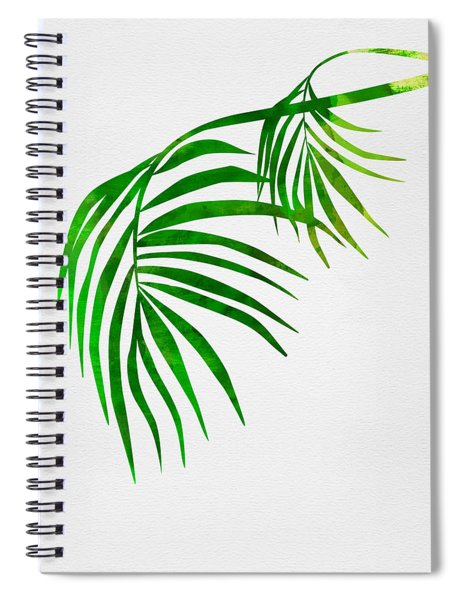 Palm Tree Leafs Spiral Notebook