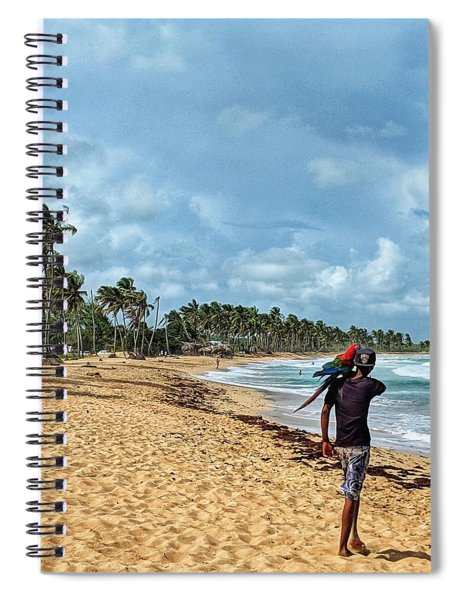 Palm Tree Paradise Spiral Notebook