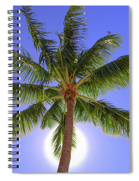 Palm Tree Sun Spiral Notebook by Patti Deters