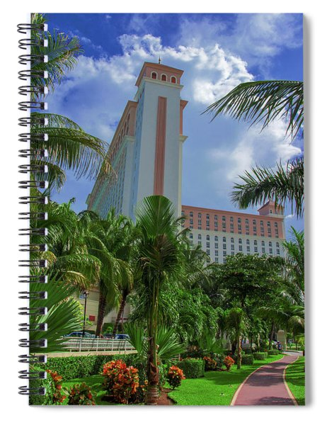 Palms At The Riu Cancun Spiral Notebook