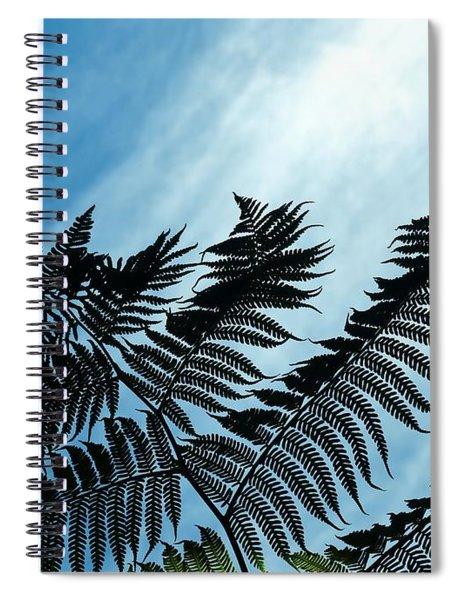 Palms Flying High Spiral Notebook