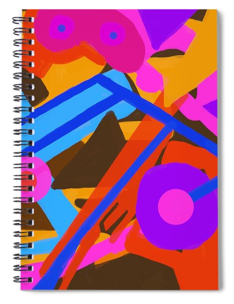 Paly Spiral Notebook