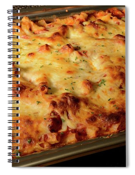 Pan Of Baked Ziti Spiral Notebook
