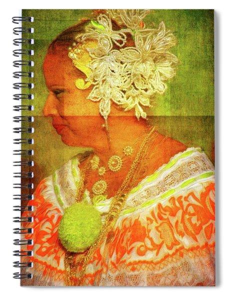Panamanian Beauty Spiral Notebook