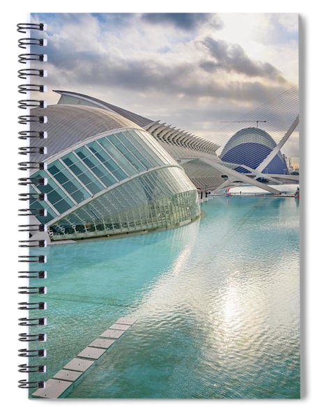 Panoramic Cinema In The City Of Sciences Of Valencia, Spain, Vis Spiral Notebook