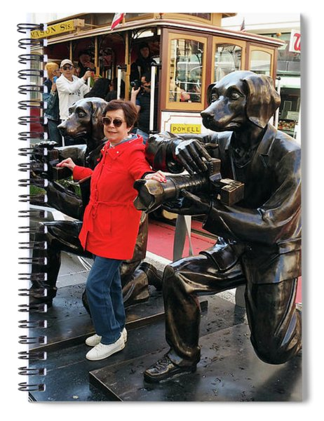 Paparazzi Dogs 2 Spiral Notebook