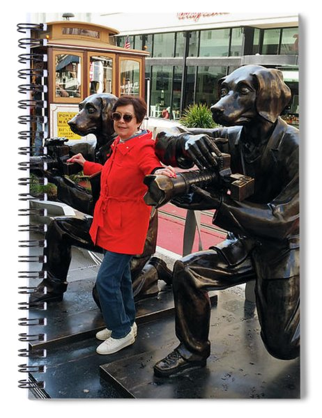 Paparazzi Dogs Spiral Notebook