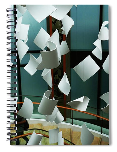 Papers Spiral Notebook