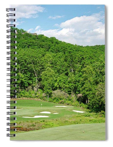 Par 3 Hole 16 Spiral Notebook