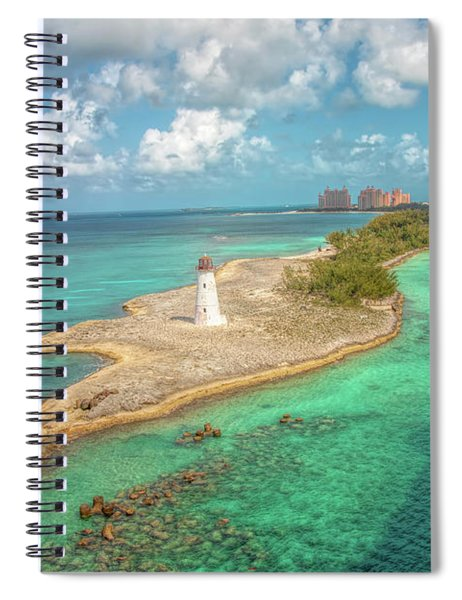 Paradise Island Lighthouse Spiral Notebook