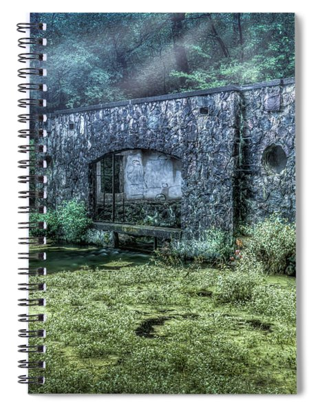 Paradise Springs Spiral Notebook