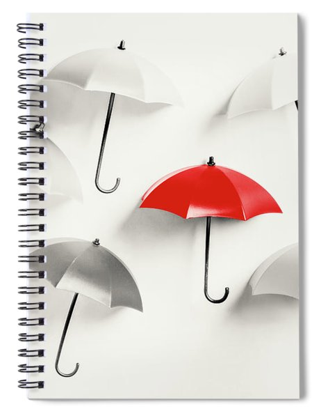 Parasol Pop Spiral Notebook