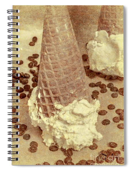 Parchment Parlor Spiral Notebook