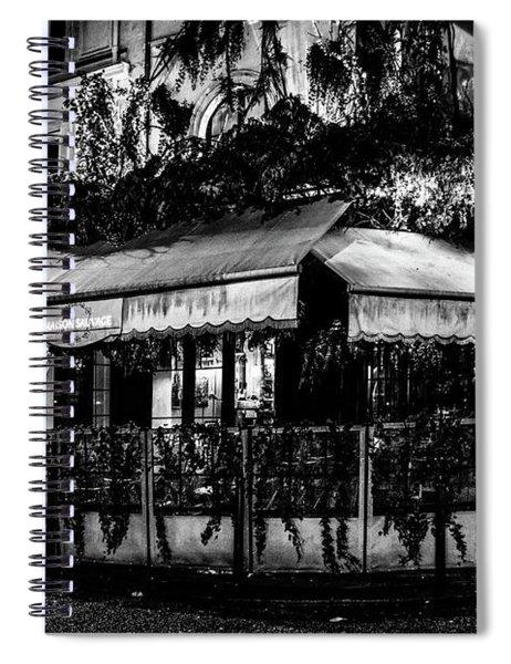 Paris At Night - Rue De Buci Spiral Notebook