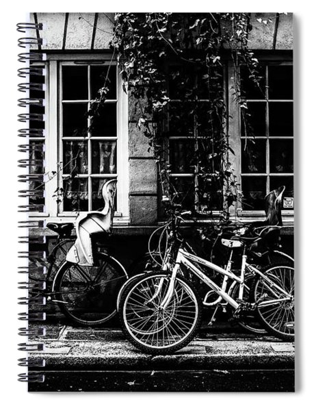 Paris At Night - Rue Poulletier Spiral Notebook