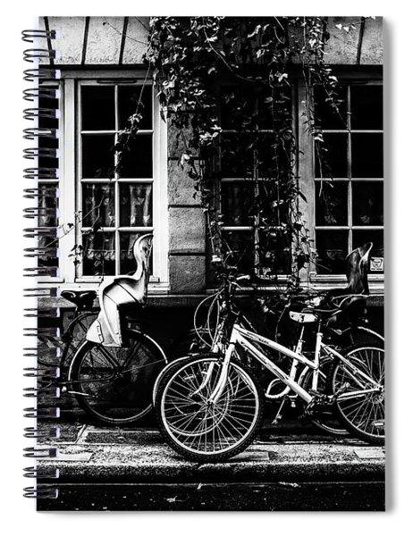 Paris At Night - Rue Poulletier Spiral Notebook