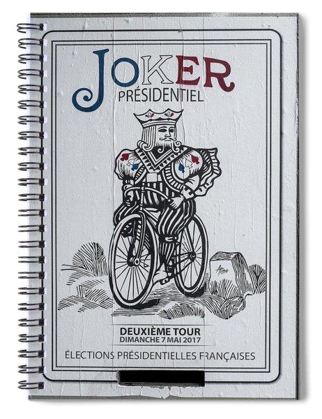 Paris Joker Spiral Notebook