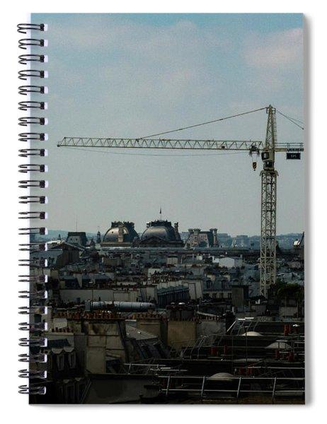 Paris Towers Spiral Notebook