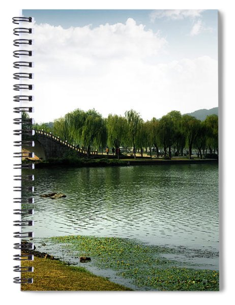 Park At Wuxi Spiral Notebook