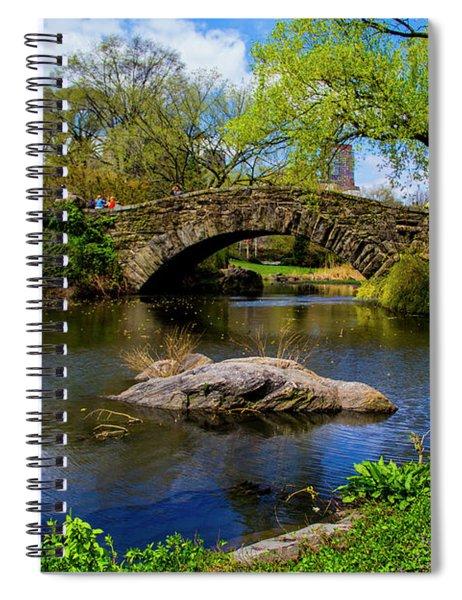 Park Bridge2 Spiral Notebook