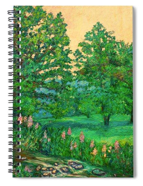 Park Road In Radford Spiral Notebook