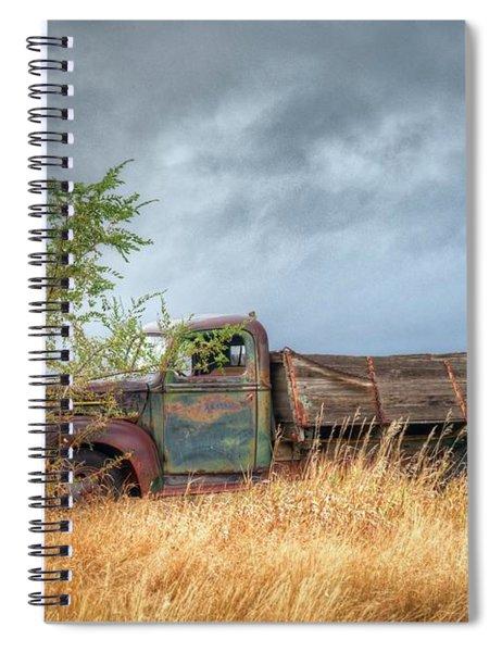 Parked  Spiral Notebook