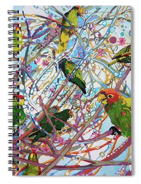 Parrot Bramble Spiral Notebook