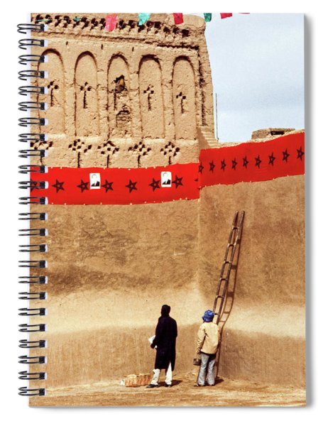 Party Preparations - The Sahara Spiral Notebook